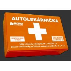 Autolekárnička MZ SR č.143/2009 (plastová)