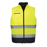 PORTWEST S267 - Hi-Vis Two Tone Vesta
