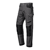 SIR SAFETY 31104G INDUSTRIAL RIPSTOP GREY - pracovné nohavice