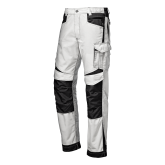 SIR SAFETY 31104W INDUSTRIAL RIPSTOP WHITE - pracovné nohavice
