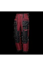 SIR SAFETY HEAVY CANVAS RED 31114R - pracovné nohavice