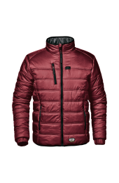 SIR SAFETY 34144 PATROL červená - Pracovná bunda zimná