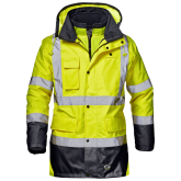 SIR SAFETY 34852 MOTORWAY SPLIT - Pracovná reflexná bunda 4v1