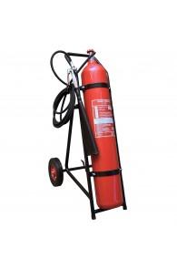 Pojazdný hasiaci prístroj snehový - Raima K30, 30 kg CO2