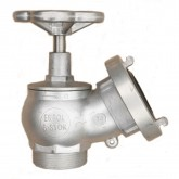 Hydrantový ventil C52 hliníkový s polospojkou