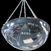 VIALUX 3660 Bezpečnostné hemisférické zrkadlo na zavesenie, 660mm