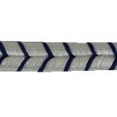 Súťažka ( lemovka ) modro strieborná