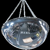 VIALUX 3680 Bezpečnostné hemisférické zrkadlo na zavesenie, 800mm