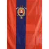Zástava DPO SR šitá